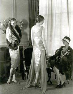 Days Gone By — Kittyinva: Some more nice late-1920's fashion -...