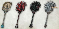 Hobby Horse - American McGee's Alice Wiki - Madness Returns.  I love the designs of the hobby horses! <3