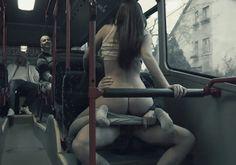 Fucking on a public bus - Porn Gifs