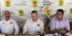 Respalda CDE del PRD nueva dirigencia nacional del partido