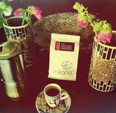 """""""My morning cup of Butter from @milanoroasters was superb... Thank you Brian Turko for my personalized bag of Butter! I ❤️ it.... So much in fact that I came in today with @shinzinho and @mrdavemartone on 8th.... And I asked for my favourite.... I said give me some Velvet!! It was delicious!! Only now I realized my fave is called Butter!!!! Lol damn good coffee! """" Image by @carmelinacupo"""