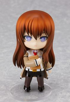 The third release of the tsundere genius from Steins;Gate!  The 'hypothetical science adventure' game Steins;Gate has just recently had a sequel and movie version released, and now Nendoroid Kurisu Makise is being rereleased too!  You can recreate a number of the poses from the game by using the included upset and embarrassed expressions. A few items from the game such as the documents in a paper ...