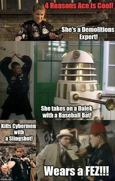1000+ images about Doctor Who - Ace on Pinterest | Doctor ...