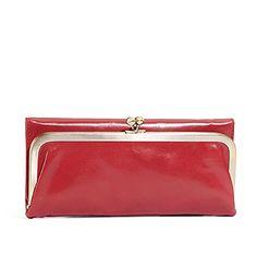 Rachel in tomato- New summer wallet? We say yes. #behobo #red