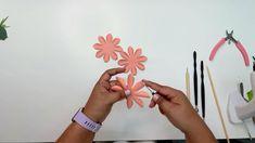 Paper Flowers Wedding, Giant Paper Flowers, Tiny Flowers, Wedding Bouquets, Flower Centerpieces, Flower Arrangements, Paper Flower Tutorial, Flower Backdrop, Flower Template