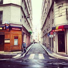 Petite rue parisienne.