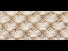 ÇİÇEK ZİNCİRİ Örgü Modeli :Knitting Stitch Patterns Tutorials - Knitting Stitch How to - YouTube