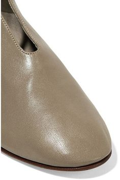 Martiniano - Bootie Leather Ankle Boots - Gray - IT38.5