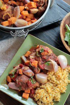 Slow-Cooked Chicken Tagine with Butternut Squash recipe (makes 4 servings)