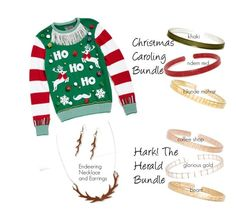 """""""Ugly Sweater #1"""" by crrynnugent on Polyvore featuring Ugly Christmas Sweater and Coffee Shop"""