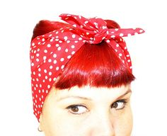Hey, I found this really awesome Etsy listing at http://www.etsy.com/listing/97700101/vintage-inspired-head-scarf-bow-or