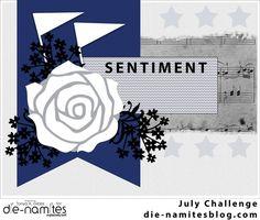 Die~Namites Dies July Sketch Challenge By Tonya Gibbs