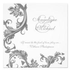 tarjetas de matrimonio elegantes para imprimir - Buscar con Google