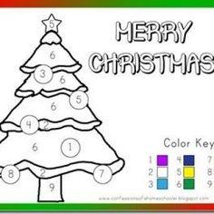 Preschool Christmas Activities {Free Printables}