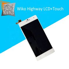 32.70$  Watch here - http://ai41t.worlditems.win/all/product.php?id=32453862120 - 100% Work for Wiko Highway Touch Screen with LCD Display Full Assembly Black/White Replacement Parts Free Tracking