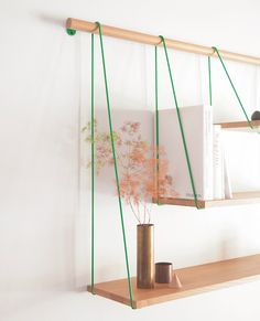 家具を置かなくても、ほら、こんなに可愛い♡ハンギングシェルフを使って、壁を魅せる方法