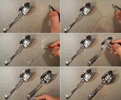 Color Pencil Drawing tutorial spoons