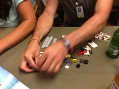 At the Speed2Design Lego challenge in California #Legos #Engineering #Engineers
