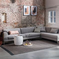Design on Stock – Aikon hoekbank – Finance is important New Living Room, Love Seat, Couch, Finance, Inspiration, Furniture, Design, Home Decor, Chaise Longue