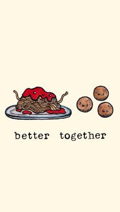 """Bilder-Suchergebnisse für """"cute better together"""" – better together - Friends Wallpaper, Food Wallpaper, Unique Wallpaper, Kawaii Wallpaper, Cute Backgrounds, Wallpaper Backgrounds, Iphone Wallpaper, Bff, Emoticons"""