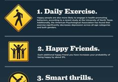 Signs of Happiness Infographic  http://aboutdepressionfacts.com/yp4e