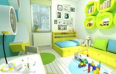 Pokój dziecka - Styl Nowoczesny - APA ARCHES sp. z o.o. sp.k.