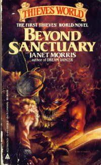 Beyond Sanctuary by Janet Morris, http://www.amazon.com/dp/0441056369/ref=cm_sw_r_pi_dp_uPG4pb14MND6G