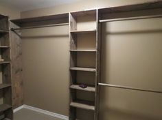 Letu0026 Just Build A House!: Diy Walk In Closets