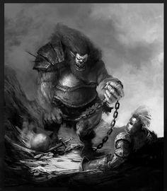 Znalezione obrazy dla zapytania troll fantasy