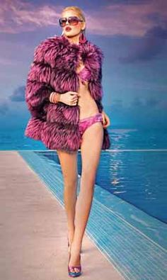 Vinicio Pajaro, whose residence is in the resort town of Abano Terme, is one of the best-known European stylists in the art of fur design, and his production has a reasonable correlation between quality and price.  #fashion #fur #europe #where