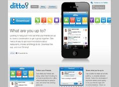 Ditto! When social life meets apps