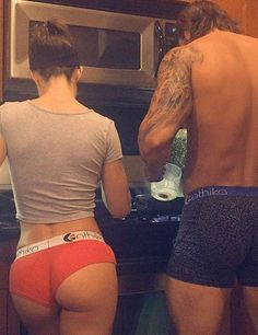 The couple that cooks together stays together.