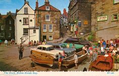 Postcard - THE DOCK, ROBIN HOOD'S BAY. circa 1970