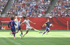 Lauren Holiday hits one vs. Japan, July 5, 2015. (U.S. Soccer)