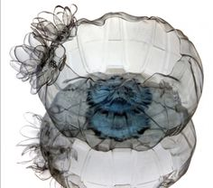 If It's Hip, It's Here: UPCYCLING: Stunning Bowls Made From Plastic Water Bottles.