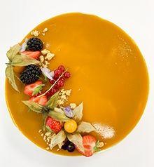 Mango-kookosmoussekakku | Meira Panna Cotta, Food And Drink, Pudding, Ethnic Recipes, Desserts, Tailgate Desserts, Dulce De Leche, Deserts, Custard Pudding