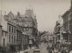 Wind Street, Swansea 1894