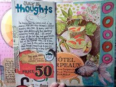 Michelle's journals she is making in Full Tilt Boogie are beautiful! Check out her blog at www.lostcoastpost.blogspot.com