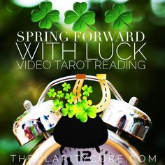 Find the LUCK in your Life Path. 🍀 📣🔑 ⏰ on SALE.. March 2018 intuitive tarot readings now avail to purchase! On sale ⭐️🌻Follow link…