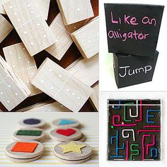 Homemade Games From Pinterest