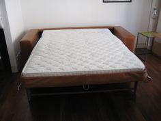 Lario Seat Sofa Bed With Wide Arms Total 204 Cm Width 140 X 200 Pocket Sprung Mattress This Piece Was Commissioned In Crest Leather Old