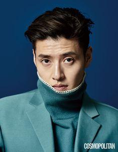 Kang Ha Neul poses for 'Cosmopolitan' magazine! Kang Ha Neul Smile, Asian Actors, Korean Actors, Kang Haneul, Cosmopolitan Magazine, How To Look Handsome, Smiles And Laughs, Seong, Fashion Tag