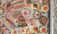 VINTAGE 1960S APPETIZERS: CANAPE, CHAFING-DISH AND FIRST COURSERECIPES