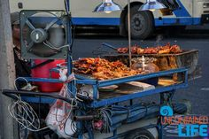 Street Food, Bangkok, Thailand, Save money on food while traveling, Uncontained Life