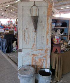 Chippy Door, Junk Finds, Nashville Flea Market Shopping, Petticoat Junktion