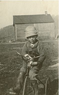 Hand-me-down trike... by Doogal :o) Back in VT, via Flickr #scenesofnewenland #soNE #soVThistory #soVT #Vermont #VT #history