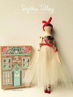 Sophie Tilley peg doll.