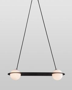 While Bauhaus and Modernism continue to be familiar inspirations for the studio, with the Laurent collection, Lambert & Fils takes a distinctly contemporary tack. Deco Luminaire, Luminaire Design, Lamp Design, Studio Lighting, Cool Lighting, Lighting Design, Bauhaus, Architecture Restaurant, Architecture Design
