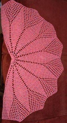 #Free Pattern; crochet; shawl ~~: by FionaO'S