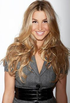 Whitney Port lush hair colour